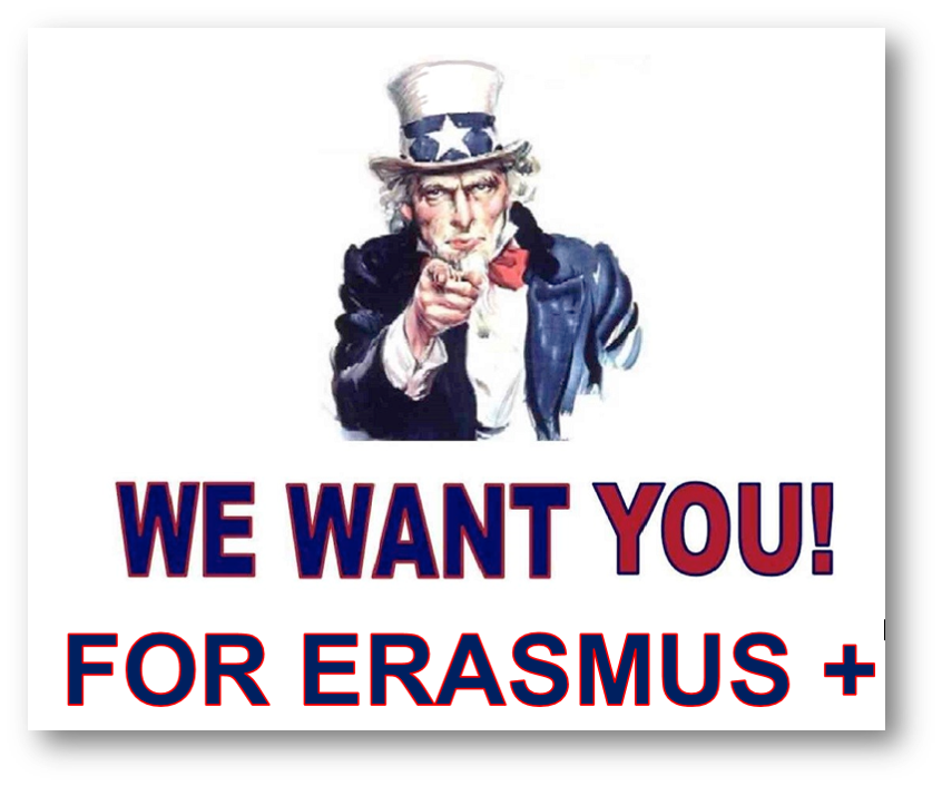 We want you for Erasmus